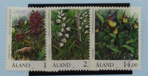 Aland Islands Stamps, 1989, SG36-38, Mint 5
