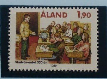 Aland Islands Stamps, 1989, SG39, Mint 5