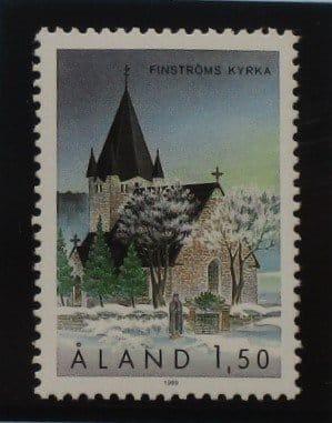 Aland Islands Stamps, 1989, SG40, Mint 5