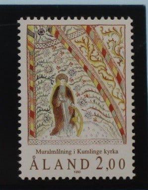 Aland Islands Stamps, 1990, SG45, Mint 5