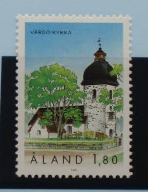 Aland Islands Stamps, 1991, SG53, Mint 5