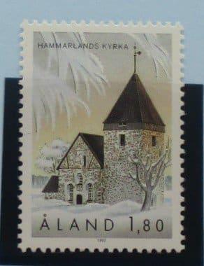 Aland Islands Stamps, 1992, SG63, Mint 5