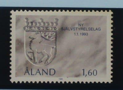 Aland Islands Stamps, 1993, SG64, Mint 5