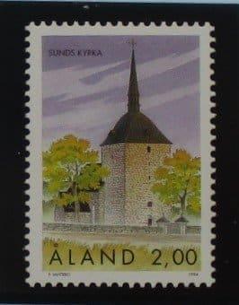 Aland Islands Stamps, 1994, SG90, Mint 5