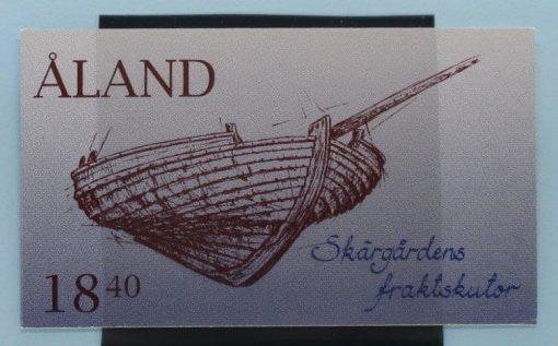 Aland Islands Stamps, 1995, SB3, Mint 5