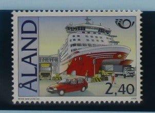 Aland Islands Stamps, 1998, SG137, Mint 5