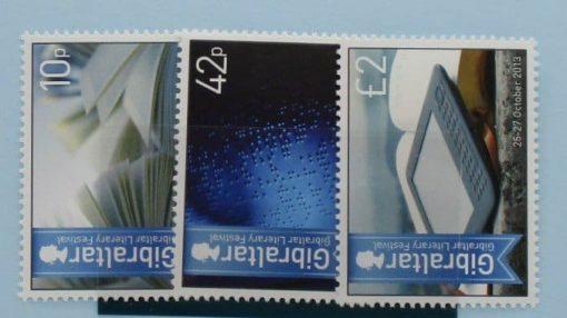 Gibraltar Stamps, 2013, SG1506-1508, Mint 5