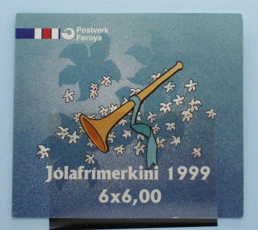 Faroe Islands Stamps, 1999, SB20, Mint 5