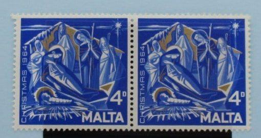 Malta Stamps, 1964, SG328, SG328a, Mint 5