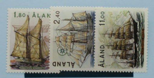 Aland Islands Stamps, 1988, SG32-34, Mint 5