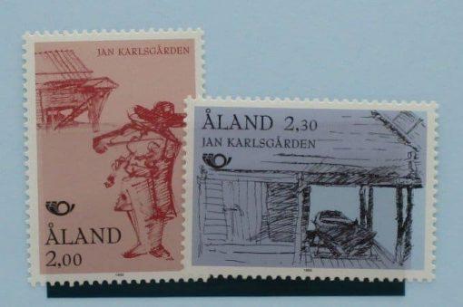 Aland Islands Stamps, 1993, SG66-67, Mint 5